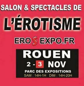Flyer salon érotique Rouen 2019