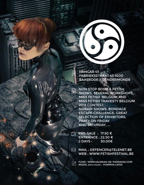 Flyer fetish bdsm festival 7